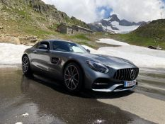 Half day on-road passenger experience in a Mercedes AMG GTS, designed,