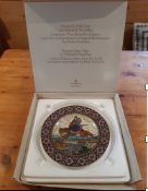 Russian Fairy Tale Plates Four Heinrich Villeroy & Boch Limited Edition Plates part of a series of