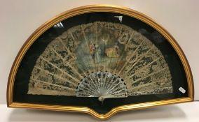 A late 19th Century J Donzel fan,