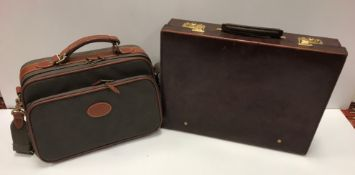 A Mulberry laptop / carry on bag, the inside tag No'd, 069943,