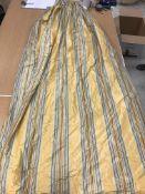 Three pairs of silk type yellow,