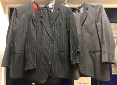 Three vintage Couch & Hoskin Limited wool suits,