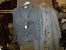 An Armani grey jacket, size 4, together