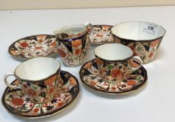 "A Royal Crown Derby ""Japan"" pattern tea"