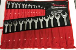 A Neilsen 25 piece combination spanner s