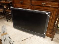 """A Sony Bravia LCD colour television, Model No. KDL-40S2510, with 40"""" screen"""