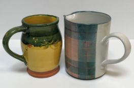 Two boxes of assorted sundry household china, to include two platters, an Anta of Scotland jug,