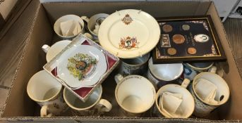 A large collection of approx 126 modern Royal Commemorative mugs