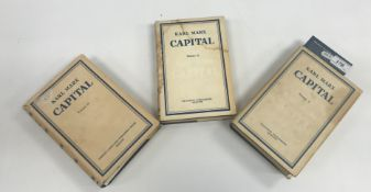 "KARL MARX ""Kapital"", a critical analysis of Capitalist Production…., volumes I, II, III, published"