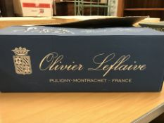Saint-Aubin 1er Cru Chatenière, Olivier Leflaive 2018 x 12 bottles (boxed)