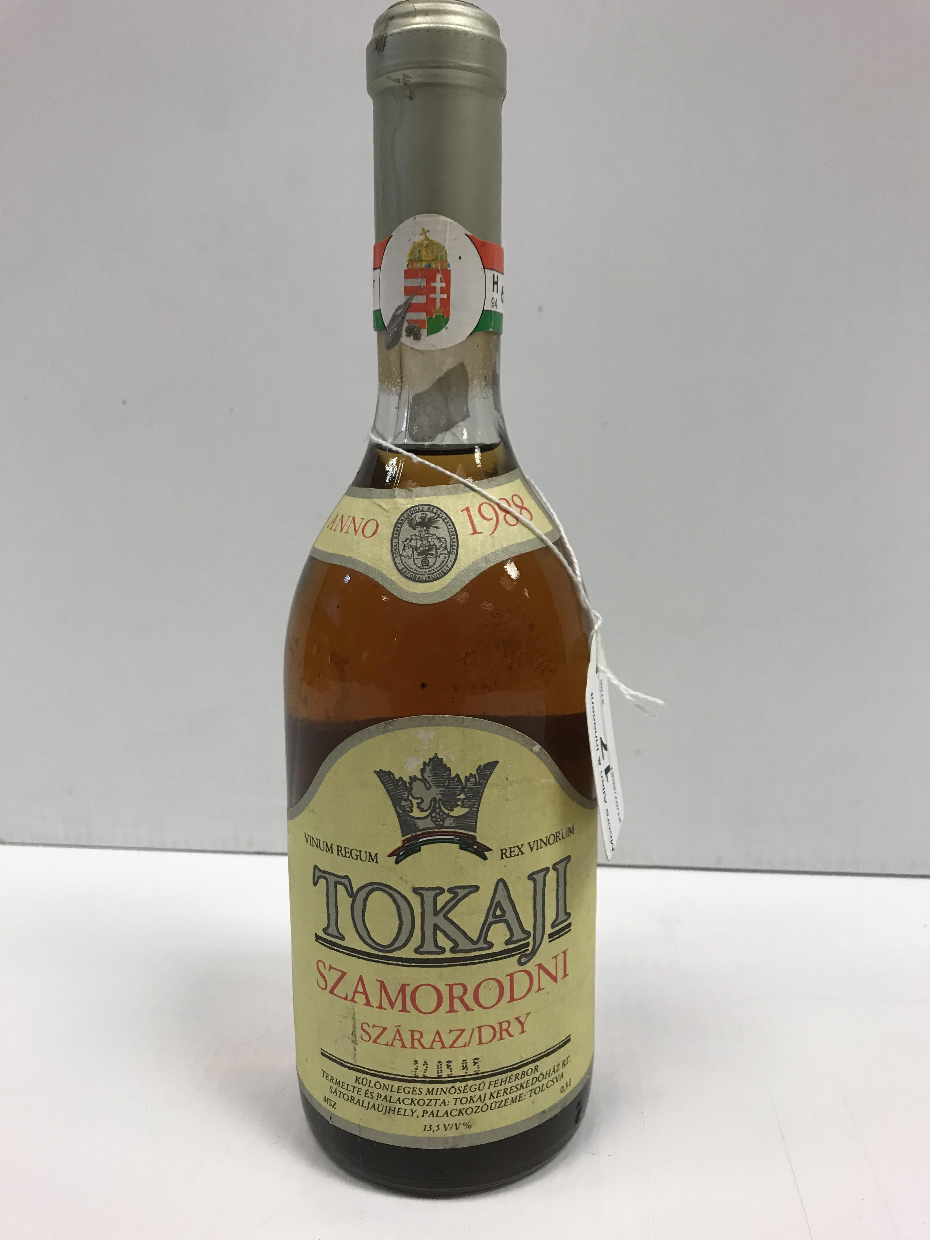 Tokaaji Szamorodni Száraz 1988 x 0.5 l bottle