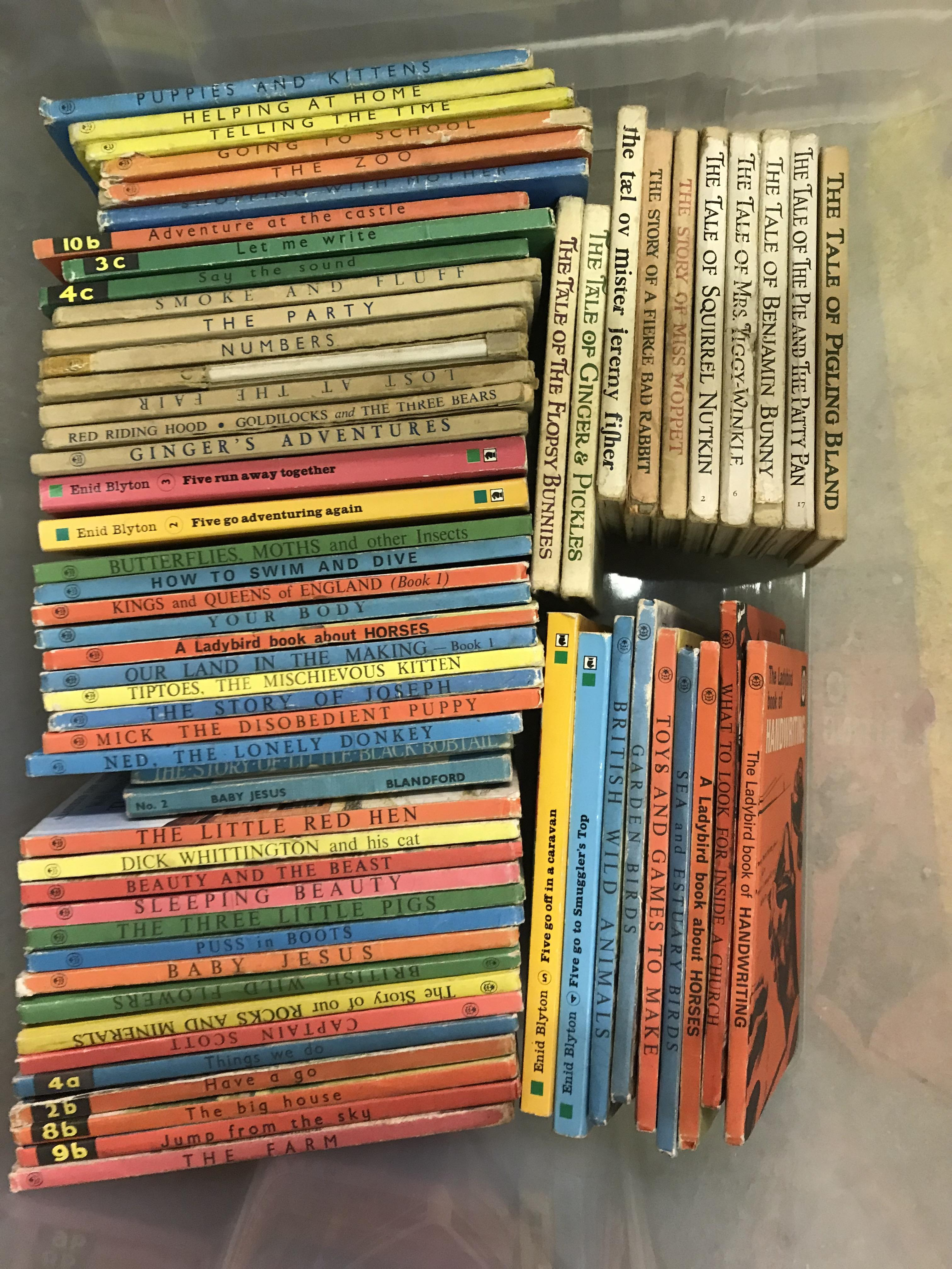 """Two boxes of mainly childrens' or reference books including 1965 edition of """"Winnie The Pooh"""", - Image 3 of 4"""