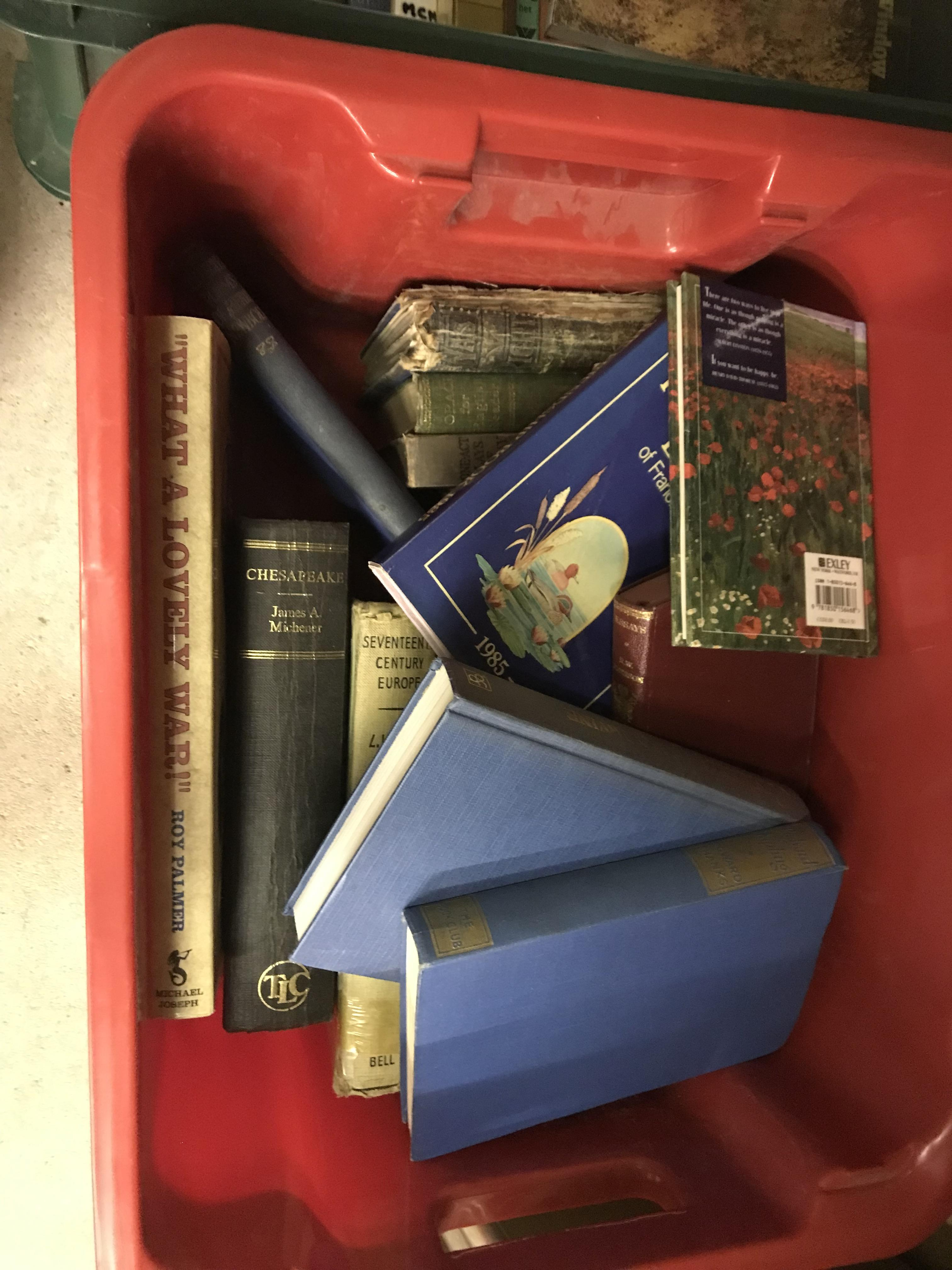 Eleven boxes of assorted books, mainly novels or historical subjects - Image 11 of 11