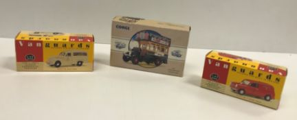 A collection of Days Gone By and Vangard model vehicles, approx 80, together with two wall-mounted