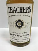Teachers Highland Cream Scotch Whisky x 12 bottles (boxed)