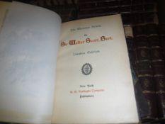 "SIR WALTER SCOTT ""The Waverley Novels"", Ivanhoe edition, published R G Newbiggin Co. New York,"