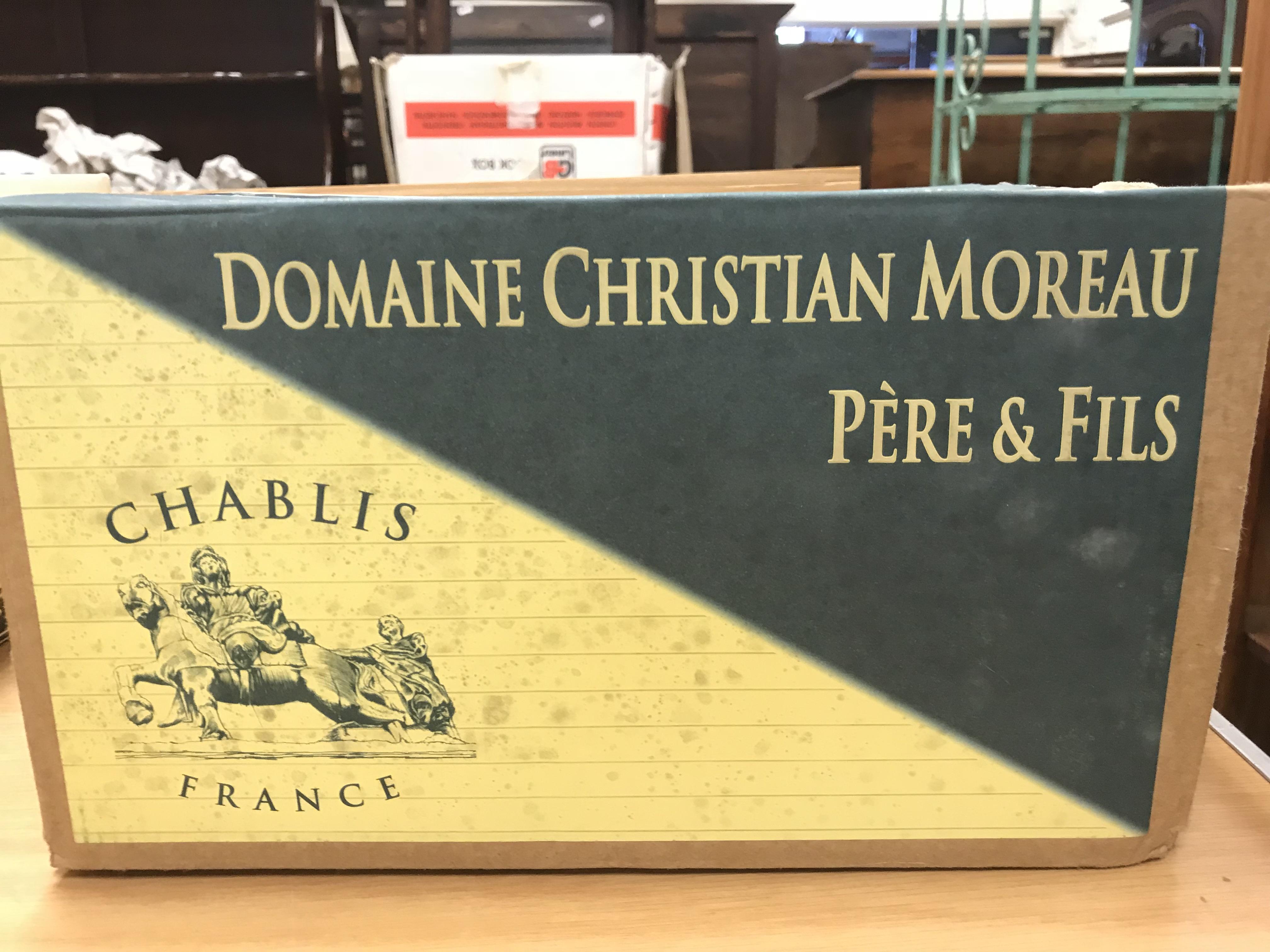 Chablis 1er Cru Vaillon Cuvé Guy Moreau 2017 x 6 bottles (boxed)