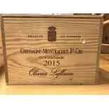 Chassagne-Montrachet 1er Cru Clos Saint-Marc Olivier Leflaive Puligny Montrachet 2015 x 6 bottles (
