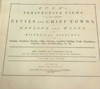 """SAMUEL AND NATHANIEL BUCK """"Buck's perspective views of near 100 cities and chief towns, in England"""