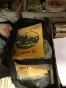 Three bags containing several hundred Chinese folk paper cuts, in original packaging