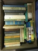 Three boxes of books on the subject of nature, naturalism, etc, together with two boxed sets of