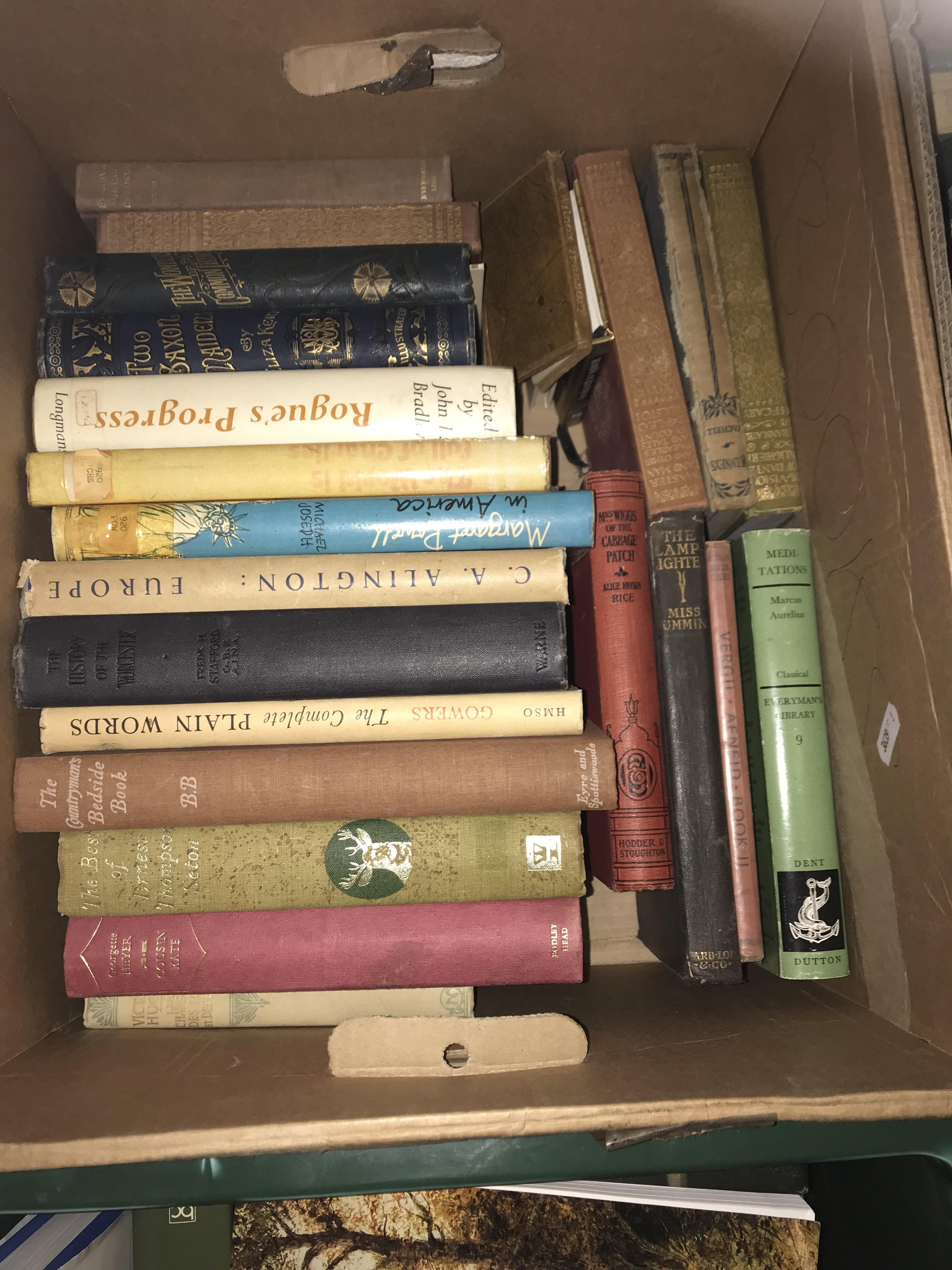Eleven boxes of assorted books, mainly novels or historical subjects - Image 9 of 11
