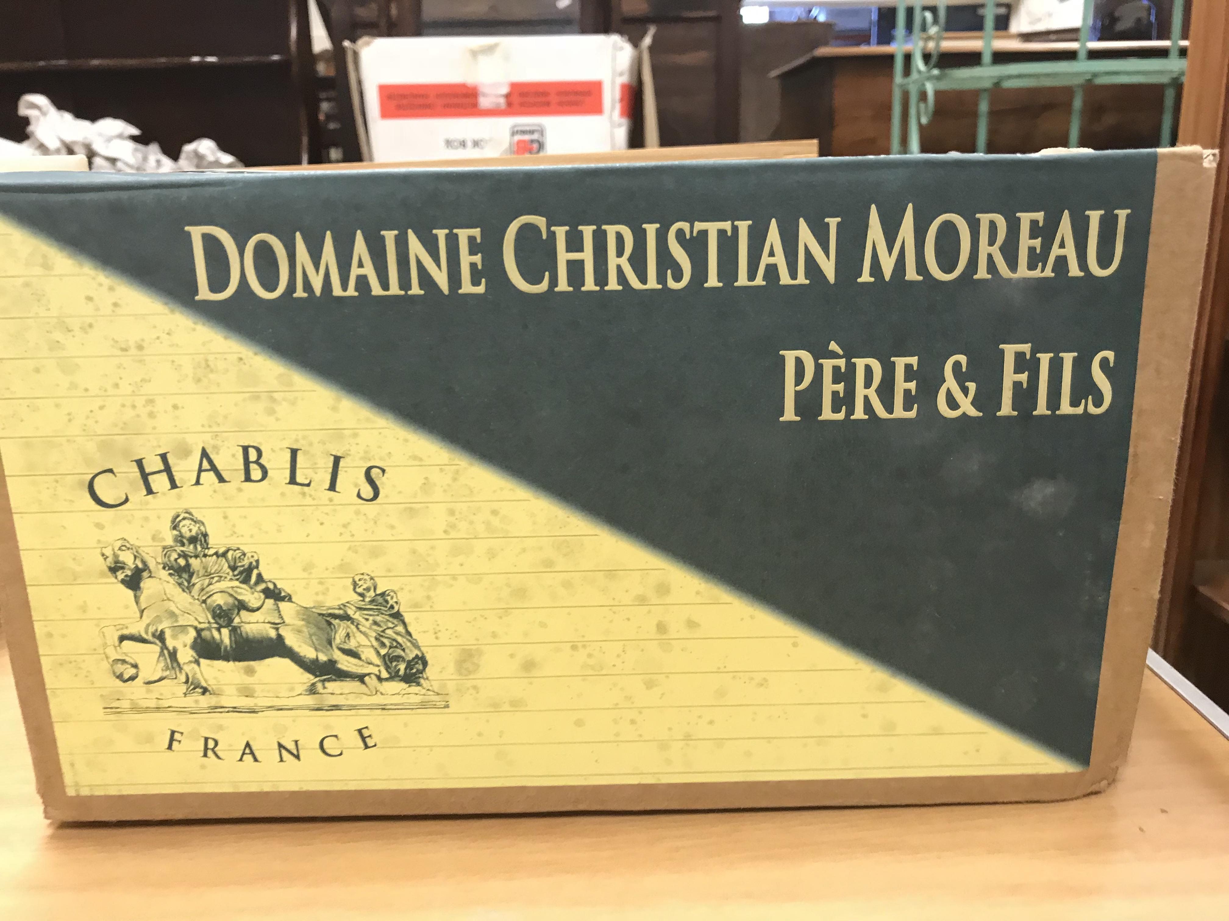 Chablis 1er Cru Vaillon Cuvé Guy Moreau 2017 x 6 bottles (boxed) - Image 2 of 2