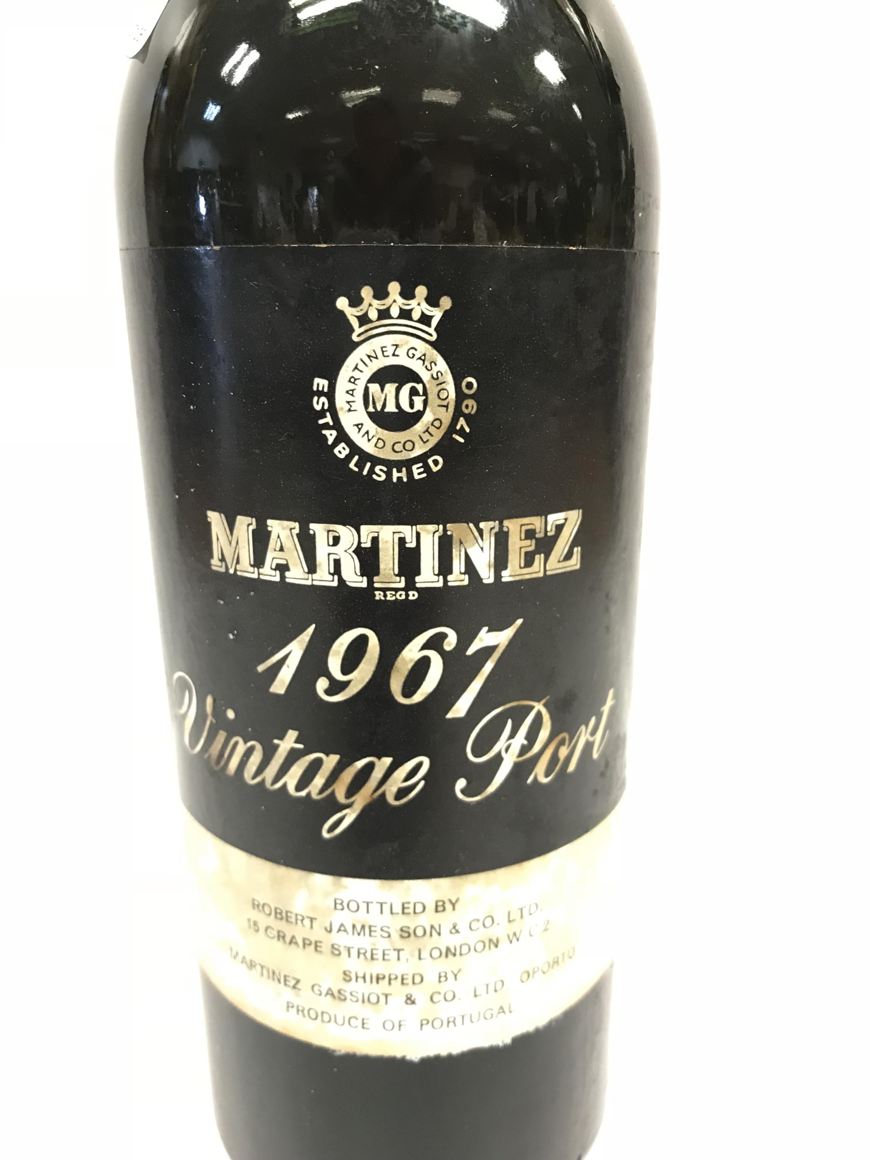 Martinez Vintage Port 1967 bottled by Robert James Son & Co. Ltd x 1 bottle - Image 3 of 4