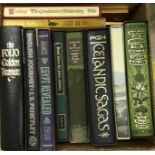 """A collection of Folio Society books to include JANE AUSTEN (x 6), """"Folk Tales of the British Isles"""","""