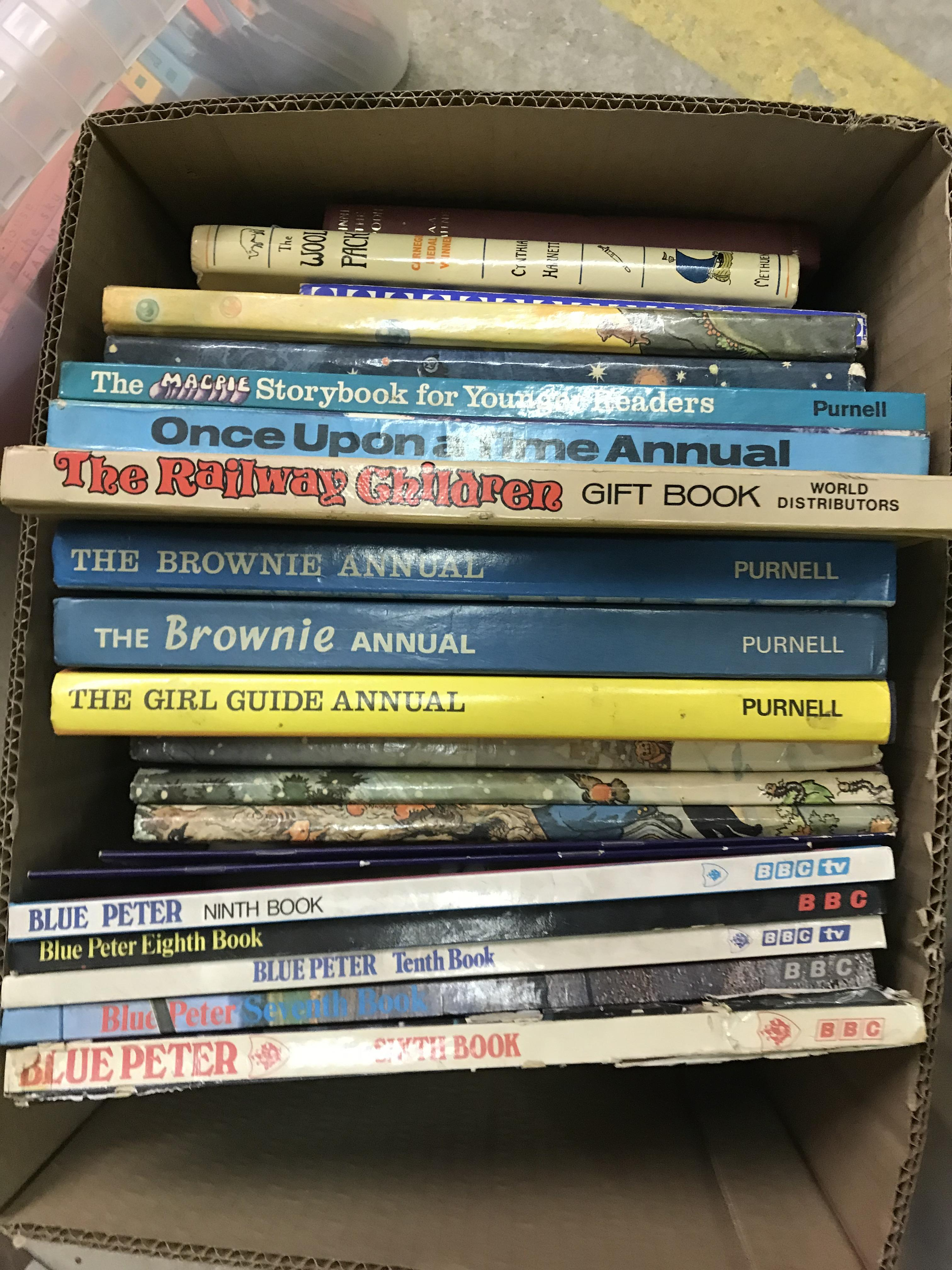 """Two boxes of mainly childrens' or reference books including 1965 edition of """"Winnie The Pooh"""", - Image 4 of 4"""