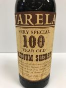 """Varela Very Special 100 year old Medium Sherry x 1 bottle (Provenance: """"This Very Special 100 year"""