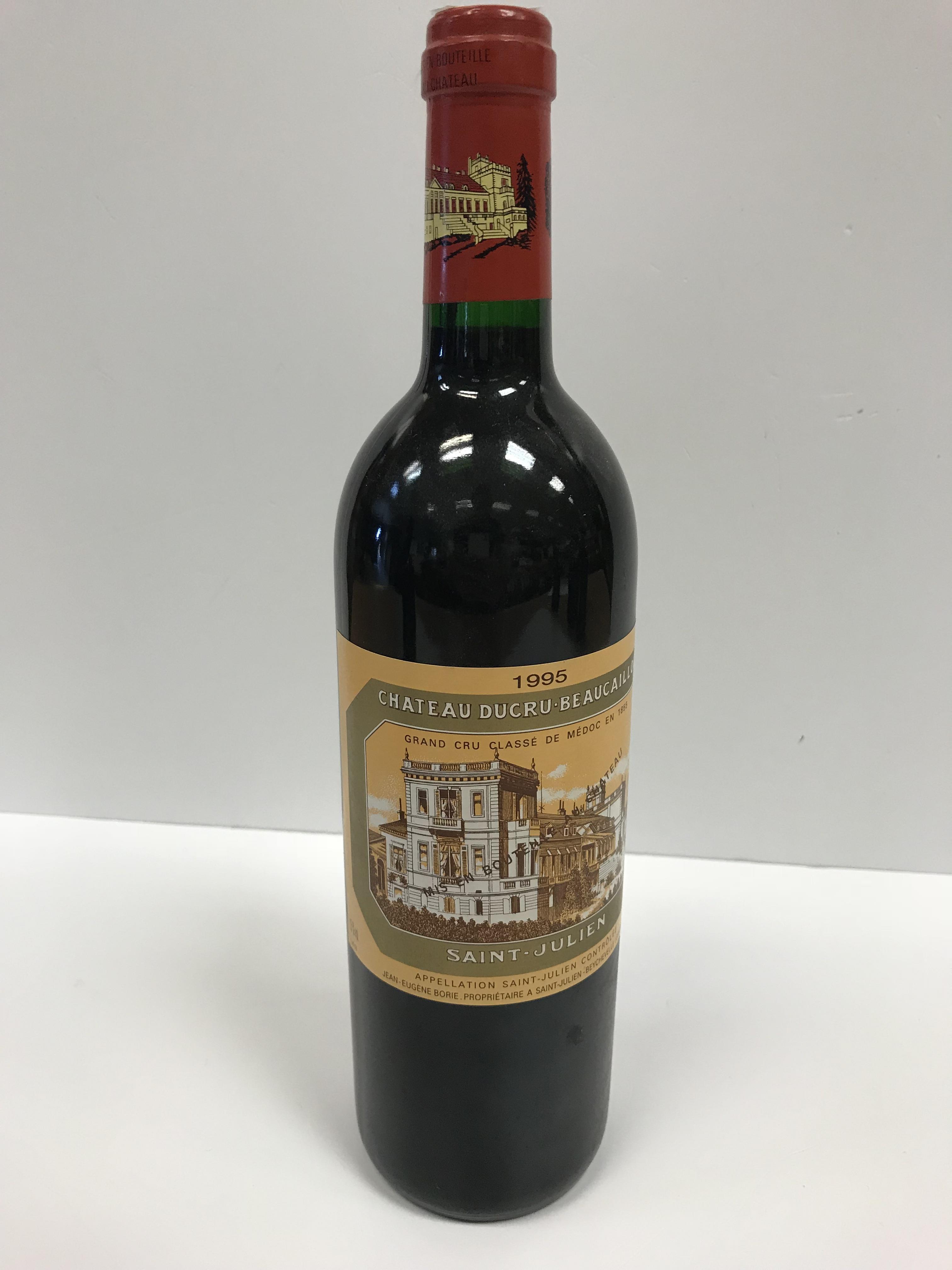 Chateau Ducru Beaucaillou Saint Julien 1995 x 1 bottle, Warre's Vintage Port 1991 x 1 bottle, - Image 5 of 14