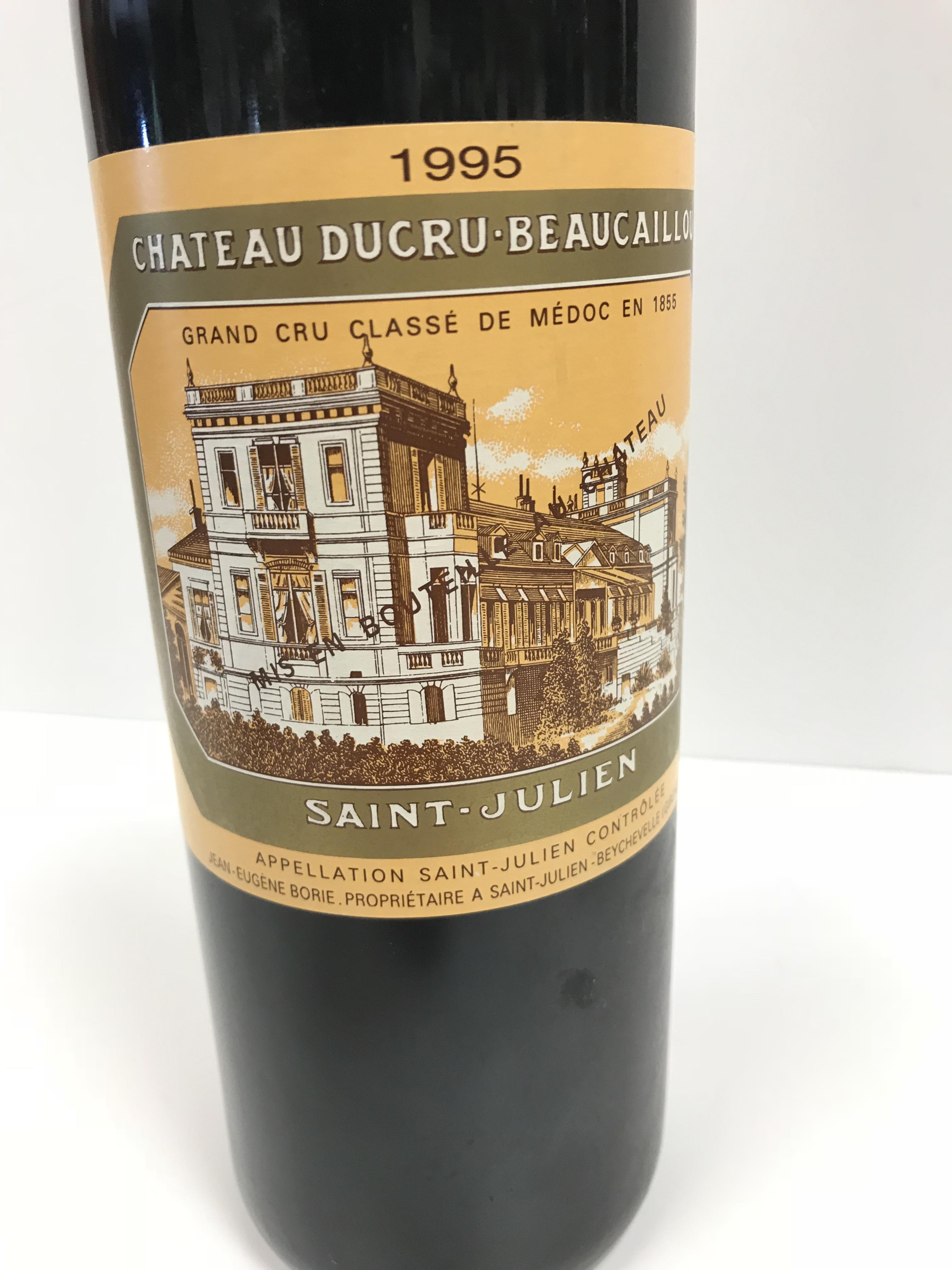 Chateau Ducru Beaucaillou Saint Julien 1995 x 1 bottle, Warre's Vintage Port 1991 x 1 bottle, - Image 4 of 14