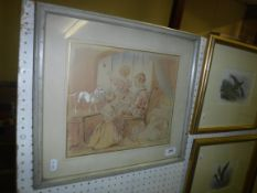"19TH CENTURY ENGLISH SCHOOL ""Richard Robert Ena and Hester Cotton Children of Viscount Cotton,"