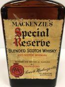 Mackenzie's Special Reserve Blended Scotch Whisky by Kenneth Mackenzie & Co. of Glasgow x 1 bottle