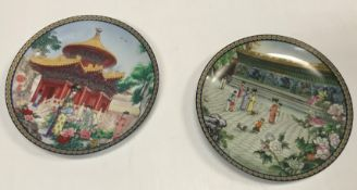 A large collection of assorted Chinese collectors' plates, all boxed - many with certificates,