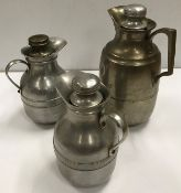 """A Thermos No.45 jug x 2 and another slightly larger inscribed """"C.H & F.C 1935 Long Jump"""""""