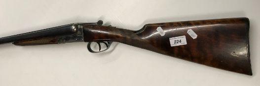 "An AYA (Aguirre & Aranzabal) ""Yeoman"" 12 bore shotgun, double barrel, side by side, box lock,"