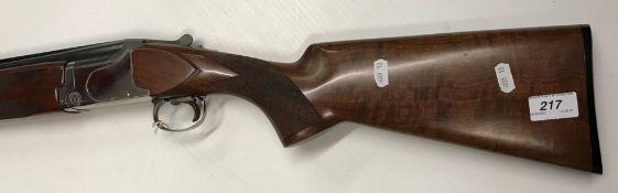 "A Winchester Model 6500 Sporter 12 bore shotgun, over and under, 28"" barrels (No. 542021)(Requires"