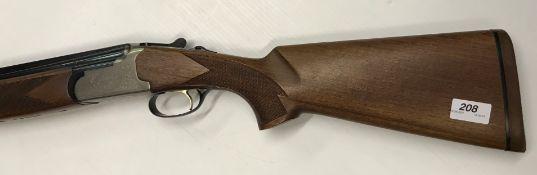 """A Lanber 12 bore shotgun, double barrel, over and under, 29.5"""" barrels (No. 364423)(Requires"""