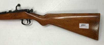 """A Webley & Scott """"Webley"""" .410 shotgun, single barrel, bolt action, 24.75"""" barrel (No. 3176)("""