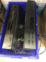 A NAD stereo tuner 4225 together with a NAD compact disc player C521 (both good working order)