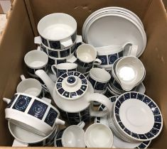 A Midwinter Madeira dinner and coffee set (eight place setting)