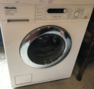 A Miele Honeycomb Care W5740 water control system washing machine