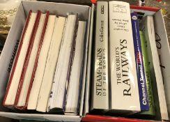 Twenty-five railway related publications, to inclu