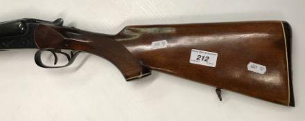 """A Baikal Model IJ-58M 12 bore shotgun, double barrel, side by side, box lock, non ejector, 28.5"""""""
