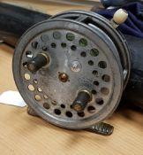 "A Hardy ""Super Silex"" 4"" spinning reel 10.5 cm"