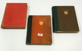 """A collection of six various sporting volumes including COLONEL COOK """"Observations on Fox Hunting"""","""
