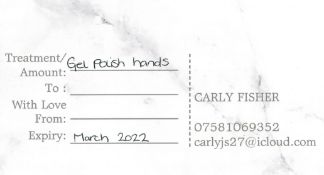 You need hands - Gel polish (hands) by local beautician Carly Fisher