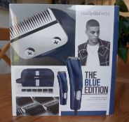 BaBylissMEN Blue Edition Professional hair clipper set-gifted by Tesco Extra